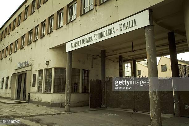 Polen / KrakauDie Emaillewaren - Fabrik von Oskar Schindler, in der der deutsche Fabrikant Juden beschäftigte und über 1.000 von ihnen das Leben...