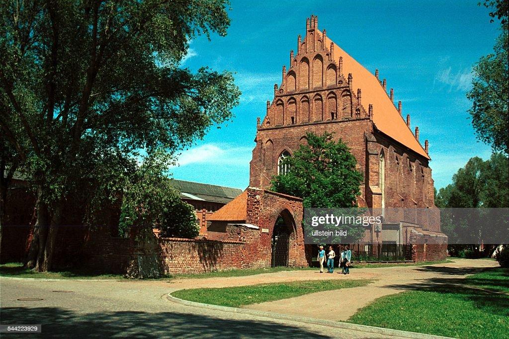 Polen: Marienkirche in Elblag : News Photo