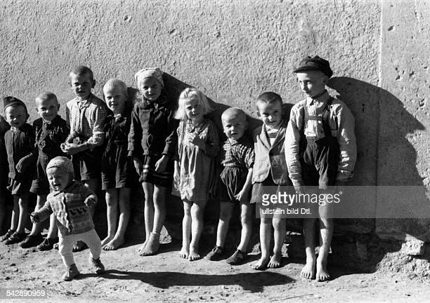 Polen Masuria Gizycko Children 1958