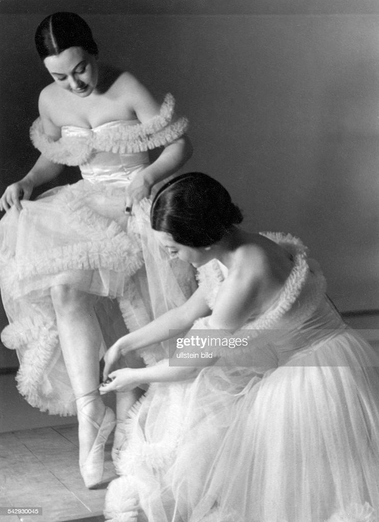 Ballett, Tanz - Balletttänzerin : News Photo