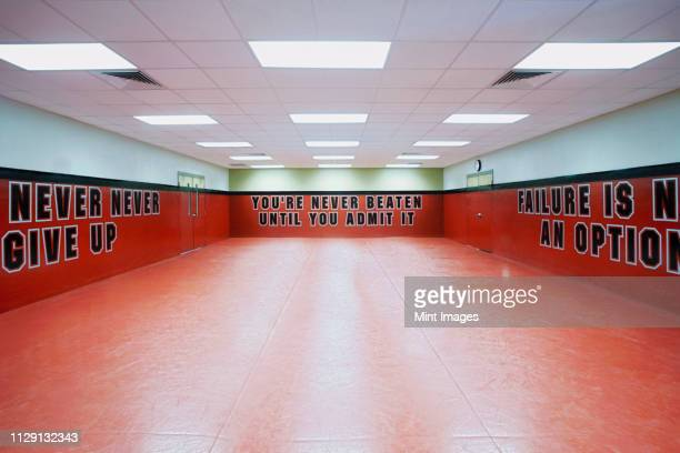 police academy defense tactics training room - martial arts stock pictures, royalty-free photos & images