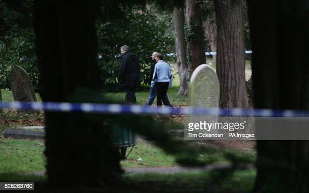 Police activity at St Judes Church in Englefield Green near Egham in Surrey Wednesday December 14 after an attack on a 20yearold woman Tuesday...