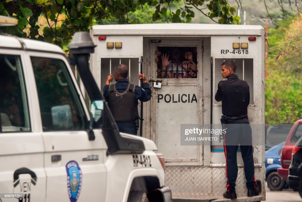 VENEZUELA-JAIL-FIRE : News Photo