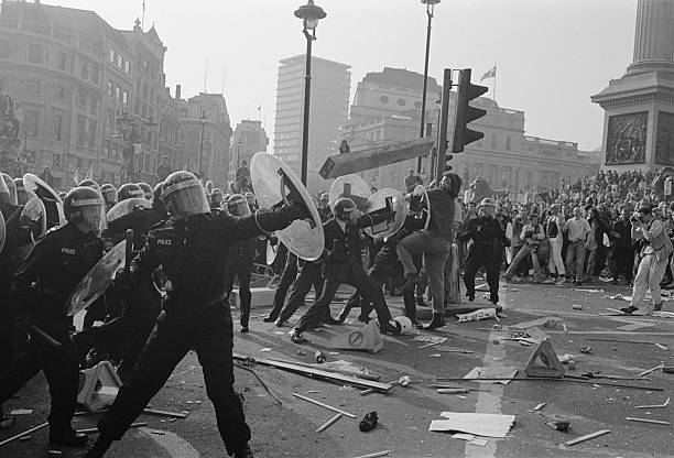 UNS: 31st March 1990 - The Anti-Poll Tax Riots In London