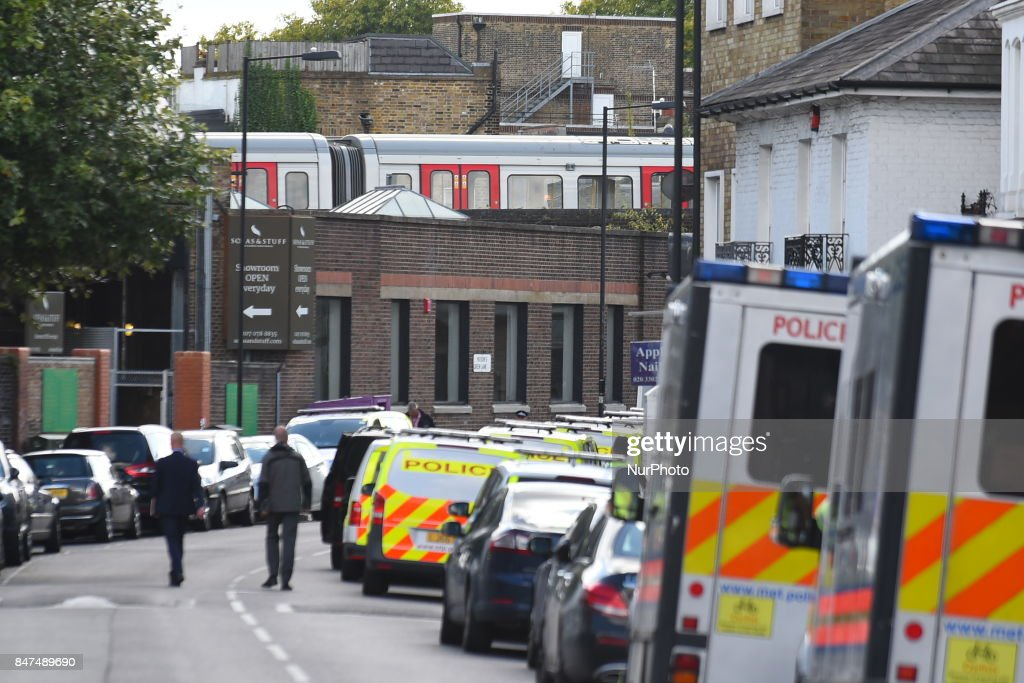 Terror Incident At Parsons Green Underground Station : News Photo