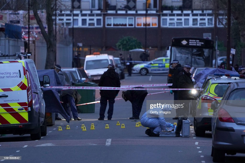 14 Year Old Boy Stabbed To Death In North London : News Photo