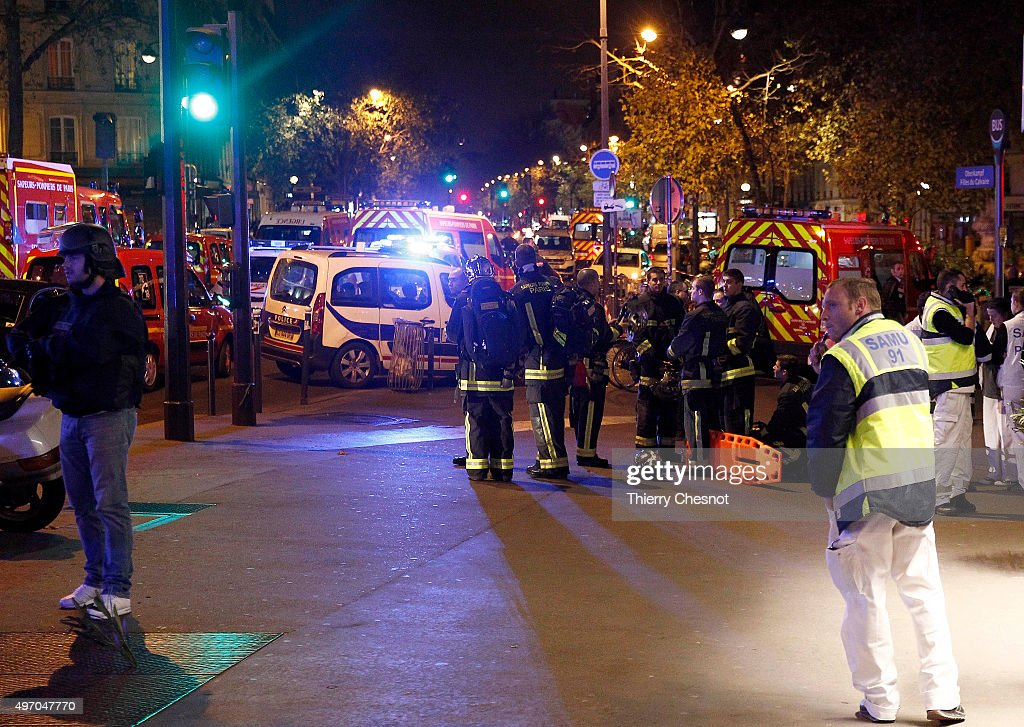 Many Dead After Multiple Shootings In Paris : News Photo