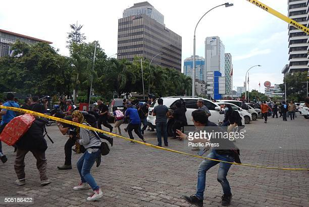 Police are in the process of identifying the location of a terrorist bomb blast in the region Sarinah Jakarta Indonesian police have confirmed that...