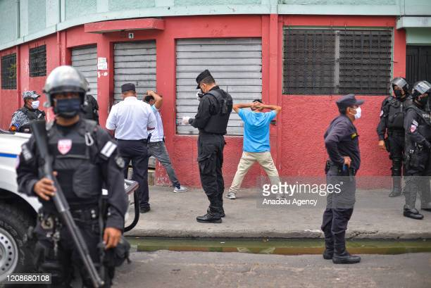 Police arrest some protestors during a protest against the closure of the aid centers that distributed a $300 of subsidy granted by the government...