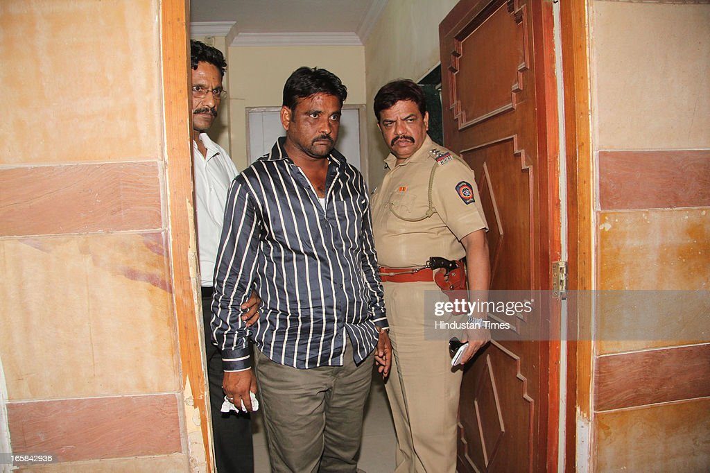 Police arrested Builder Jamil Kureshi one of the builders of the 7-storey illegal structure that caved in here claiming 72 lives on on April 6, 2013 in Thane, India. Rescue operations were called off after 62 people were pulled out of the debris.