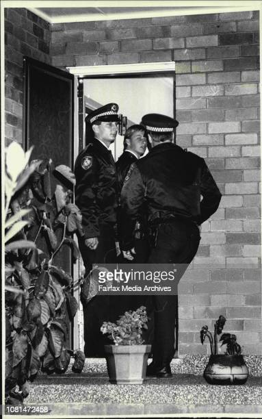 Police at the home where the murder took placeGreenacreFriends of the deceased John and Irene PolecRelative of the deceasedBrother in law who took...