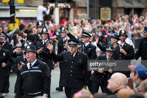 CONTENT] Police at the Manchester Gay Pride parade 2013