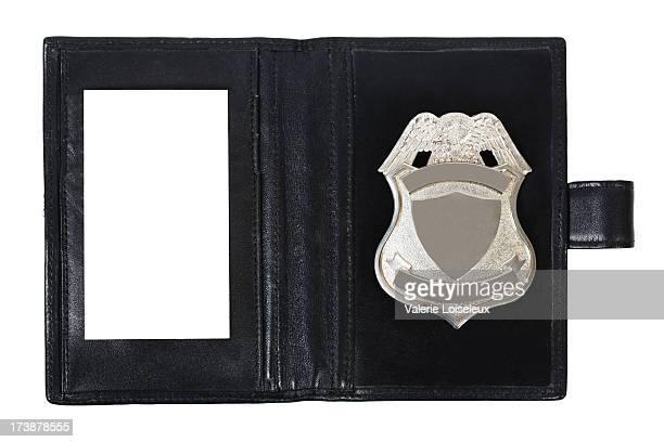 警察のバッジ