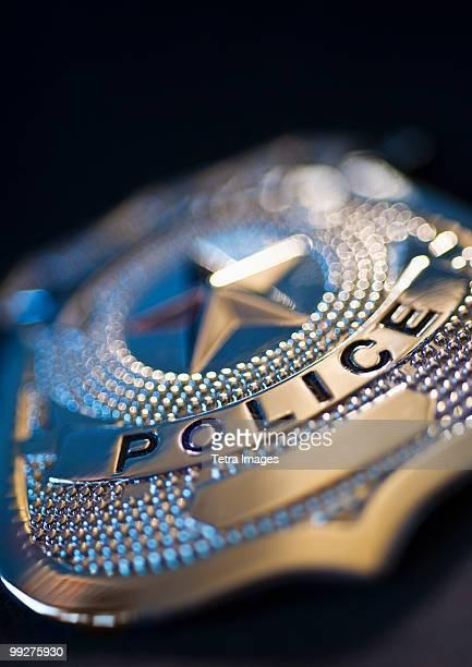 police badge - distintivo de polícia - fotografias e filmes do acervo