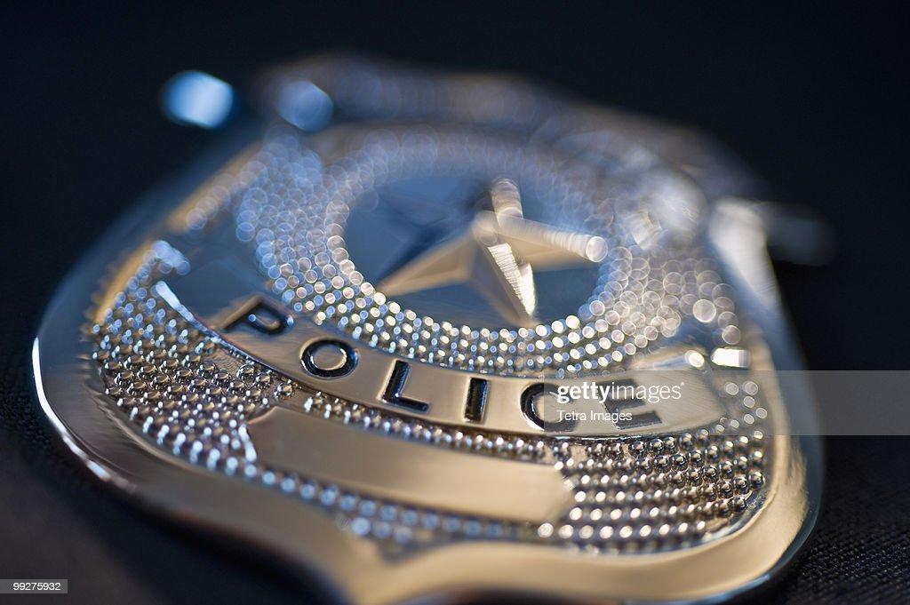 Police badge : Stock Photo