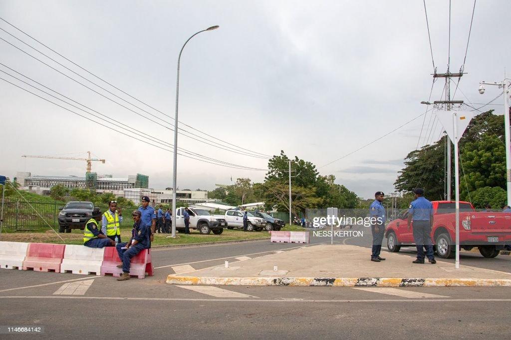 PNG-POLITICS-ONEILL : News Photo