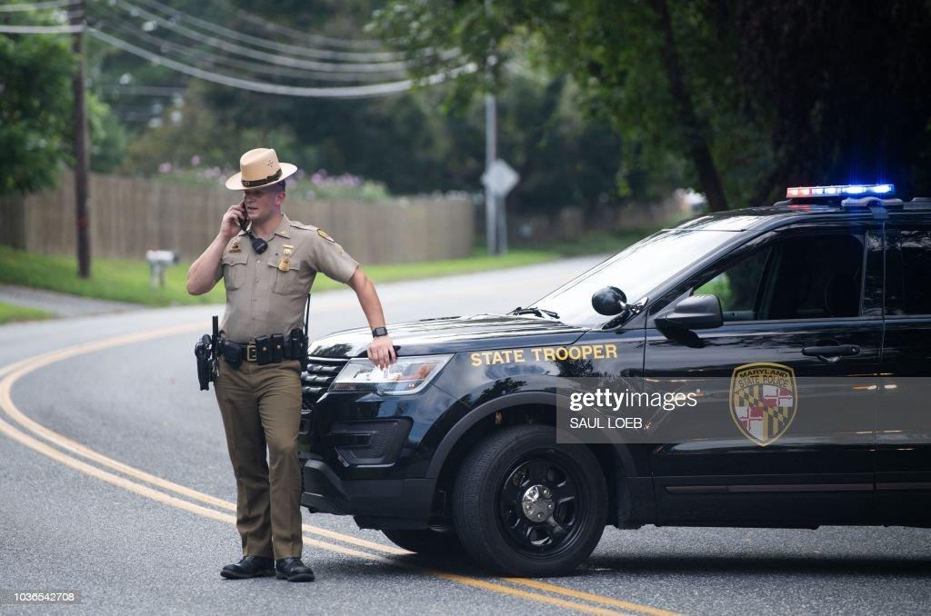 TOPSHOT-US-CRIME-SHOOTING : News Photo