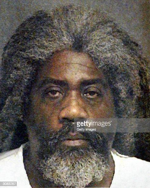 A police booking photo of 57yearold Marcus Wesson is seen March 13 2004 in Fresno California According to reports nine bodies were found entwined in...