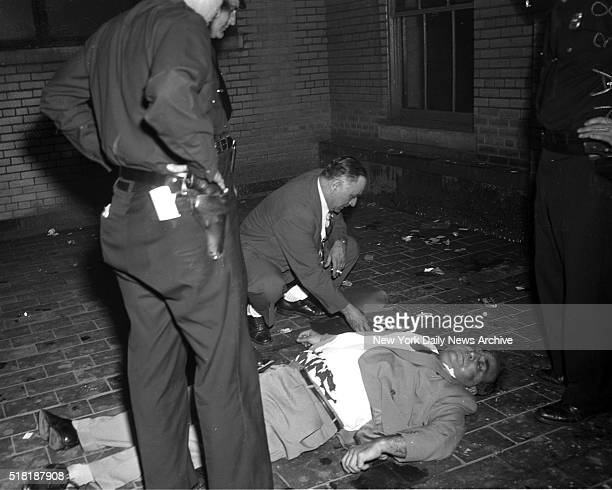 Police Capt Alfred Panarella goes through the personal effects of his dead brother Charles Panarella a retired patrolman who'd just plunged through a...