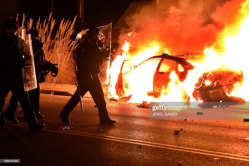 US-CRIME-POLICE-RACE-UNREST : News Photo