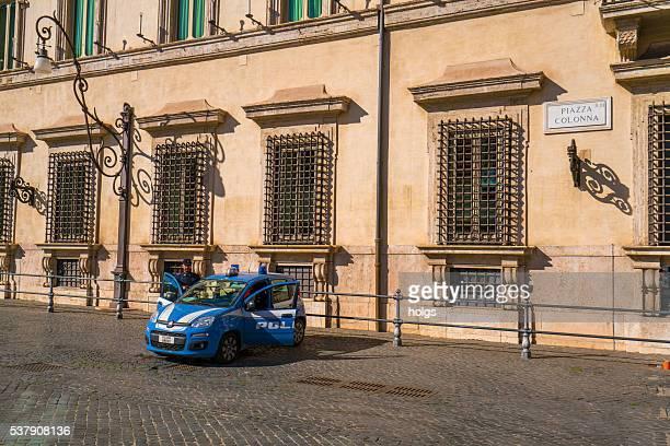 Polizia auto a Roma, Italia