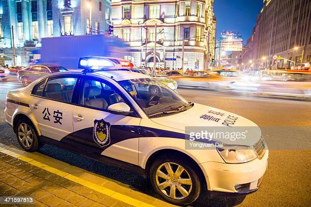 Police Car in Shanghai