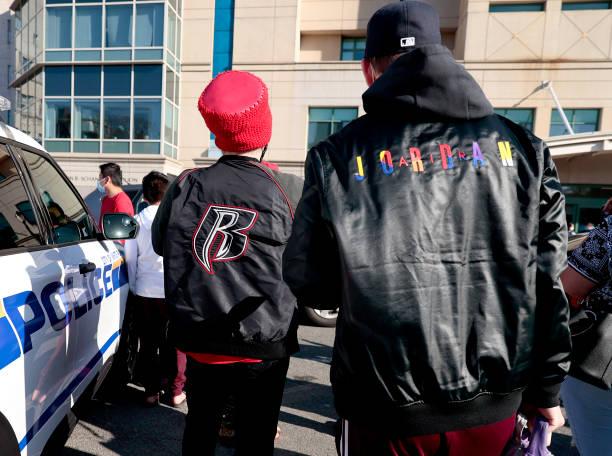 NY: Candlelight Vigil Held For Rapper DMX