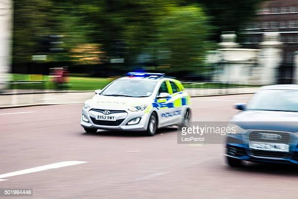 Police car panning