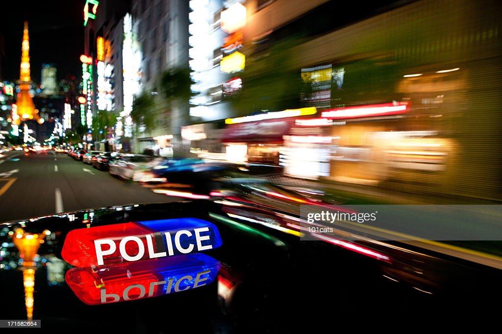 police car : Stock Photo