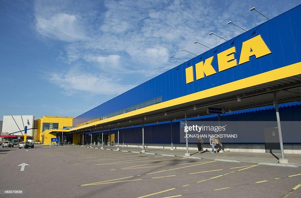 Ikea Store Outside