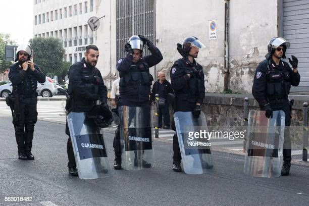 Police Check on people in port of Naples for G7 Interior Ministers Meeting in Ischia Italy on 19 2017