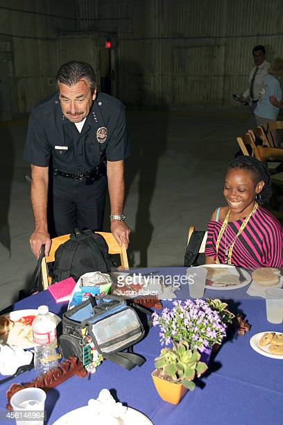 Police Chief Charlie Beck at The Sunshine Kids Foundation's LAPD Benefit Event With The Cast Of 'Major Crimes' at Raleigh Studios on September 25...