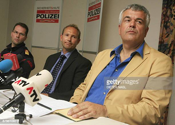 Police Colonel Wolfgang Haupt and the chief of the Vienna Office for the Protection of the Constitution and counterterrorist agency Werner Autericky...