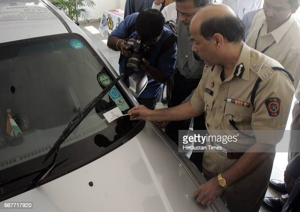 Police Commisioner ANRoy at Launch of Preventive Measure Etching To Prevent car Thefts at Police Gymkhana at Marine Drive