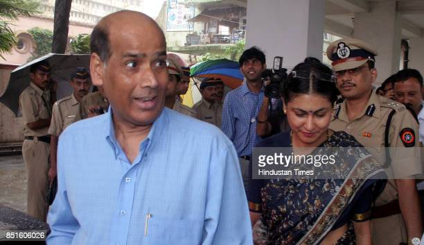 Police Commissioner AN Roy and JCP Meera Borwankar The Mumbai police had organsied antimotor theft day on July 1 and demonstrated how etching on...