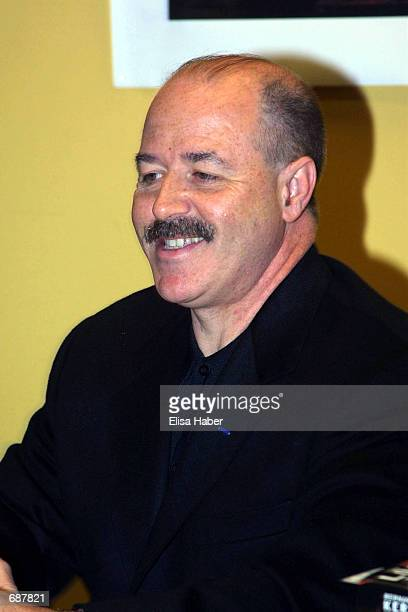 """Police Commissioner Bernard Kerik attends a book signing event for his new autobiography """"Lost Son"""" December 15, 2001 at Borders Books in Paramus,..."""