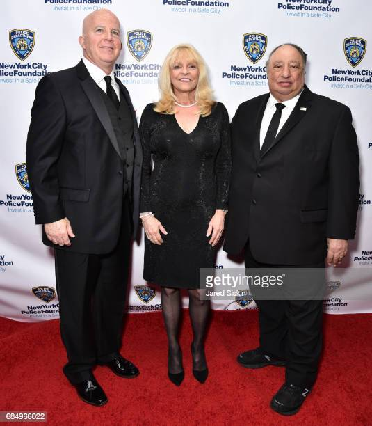 Police Commissioner James O'Neill Margo Catsimatidis and John Catsimatidis attend New York City Police Foundation 2017 Gala at Sheraton New York on...
