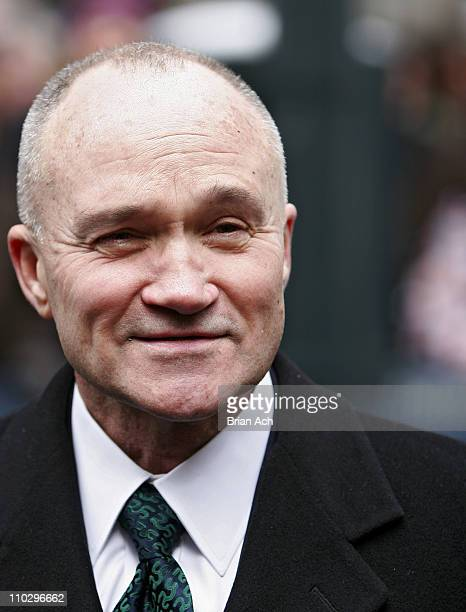 NYC Police Commissioner Raymond W Kelly during 246th Annual New York City St Patrick's Day Parade at 5th Avenue in New York New York United States