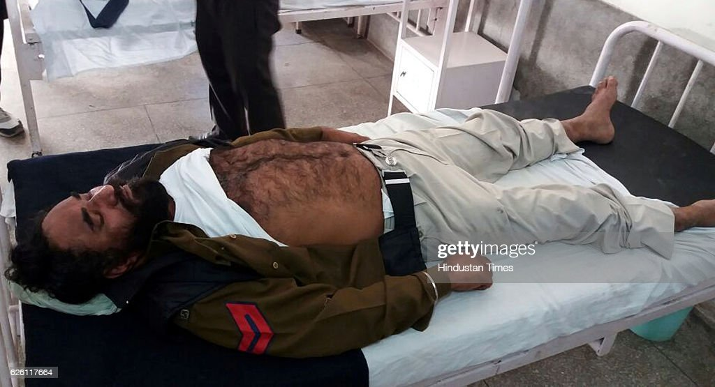 Police constable Avtar Singh admitted at govt Civil Hospital after jail crack at Nabha jail in Patiala from where one militant and 4 other inmates...