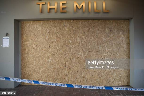 A police cordon outside The Mill pub in Salisbury which remains closed in the aftermath of the nerve agent attack on Russian double agent Sergei...