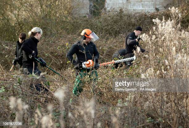Police cut back undergrowth near Oak Road playing fields in Hull a 24yearold man arrested in connection with the disappearance of university student...