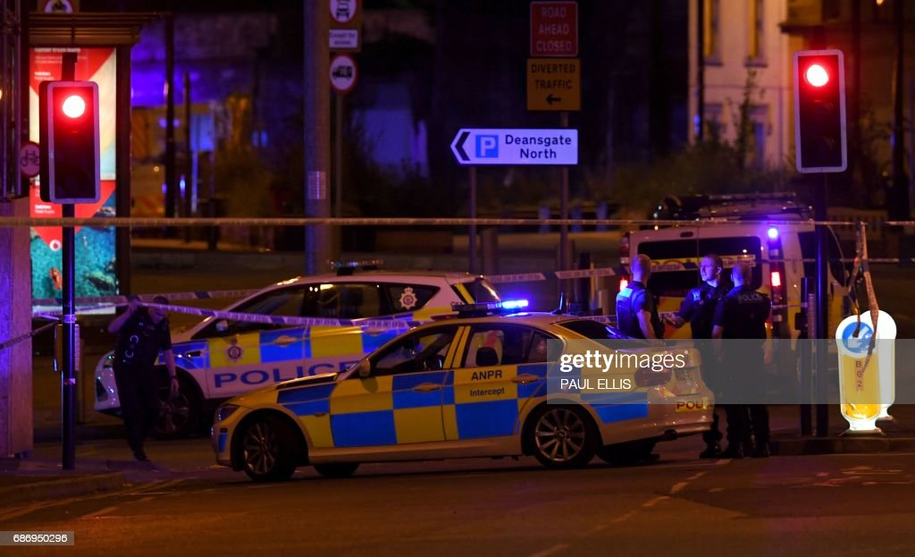 BRITAIN-ACCIDENT-MUSIC-POLICE : News Photo