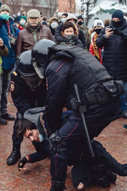 RUS: Demonstrations Follow Navalny Detention