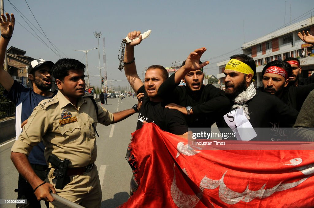 Police Detain Shia Mourners To Foil Muharram Procession In Srinagar