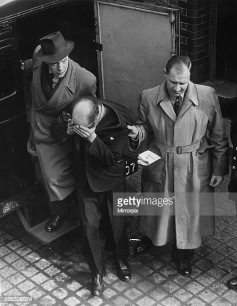 Police escorting John Reginald Christie to court