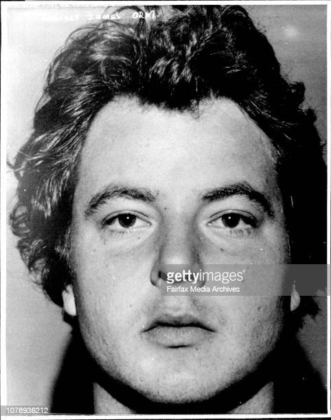 Police File pic of Geoffrey James Orme Long Bay Goal escapee Geoffrey James Orme who was serving time on a manslaughter conviction was listed as...