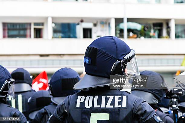 Police Force Against Building In Frankfurt