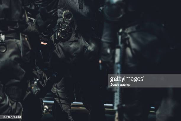 police forces are ready - task force stock pictures, royalty-free photos & images