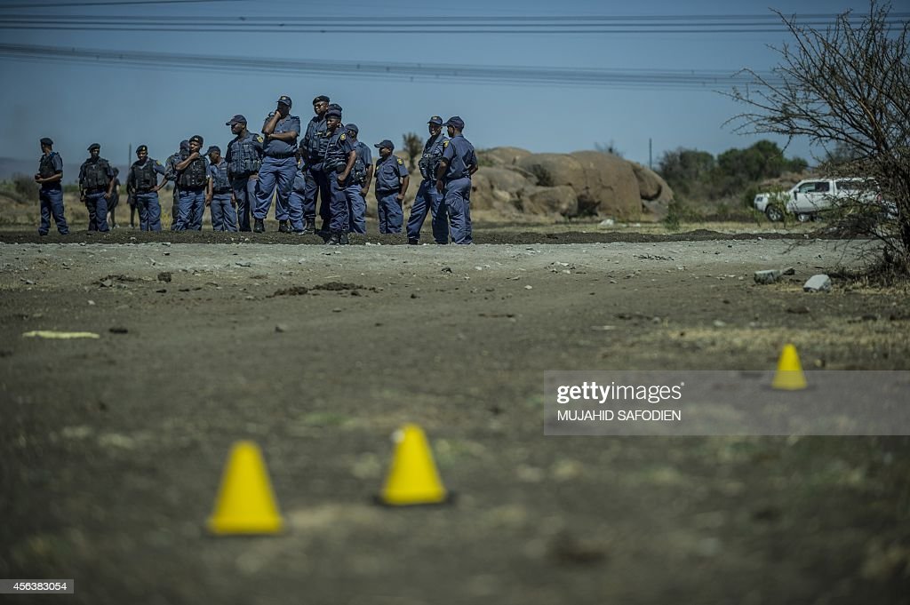 SAFRICA-MINING-MARIKANA-INVESTIGATION : News Photo