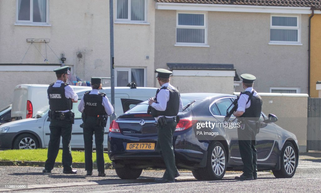Police Forensic Officers Examining The Scene Of A Security Alert At News Photo Getty Images